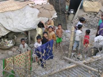 Favela em Bangladesh