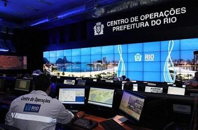 Centro de Operações no Rio De Janeiro do sistema Pmar