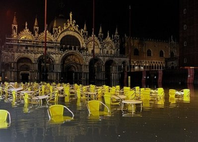 Piazza San Marco, Veneza, em foto de Jedimentat44/Flickr