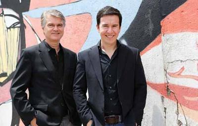 Os sócios Rodolfo Guttilla e Leandro Machado: mobilização da opinião pública