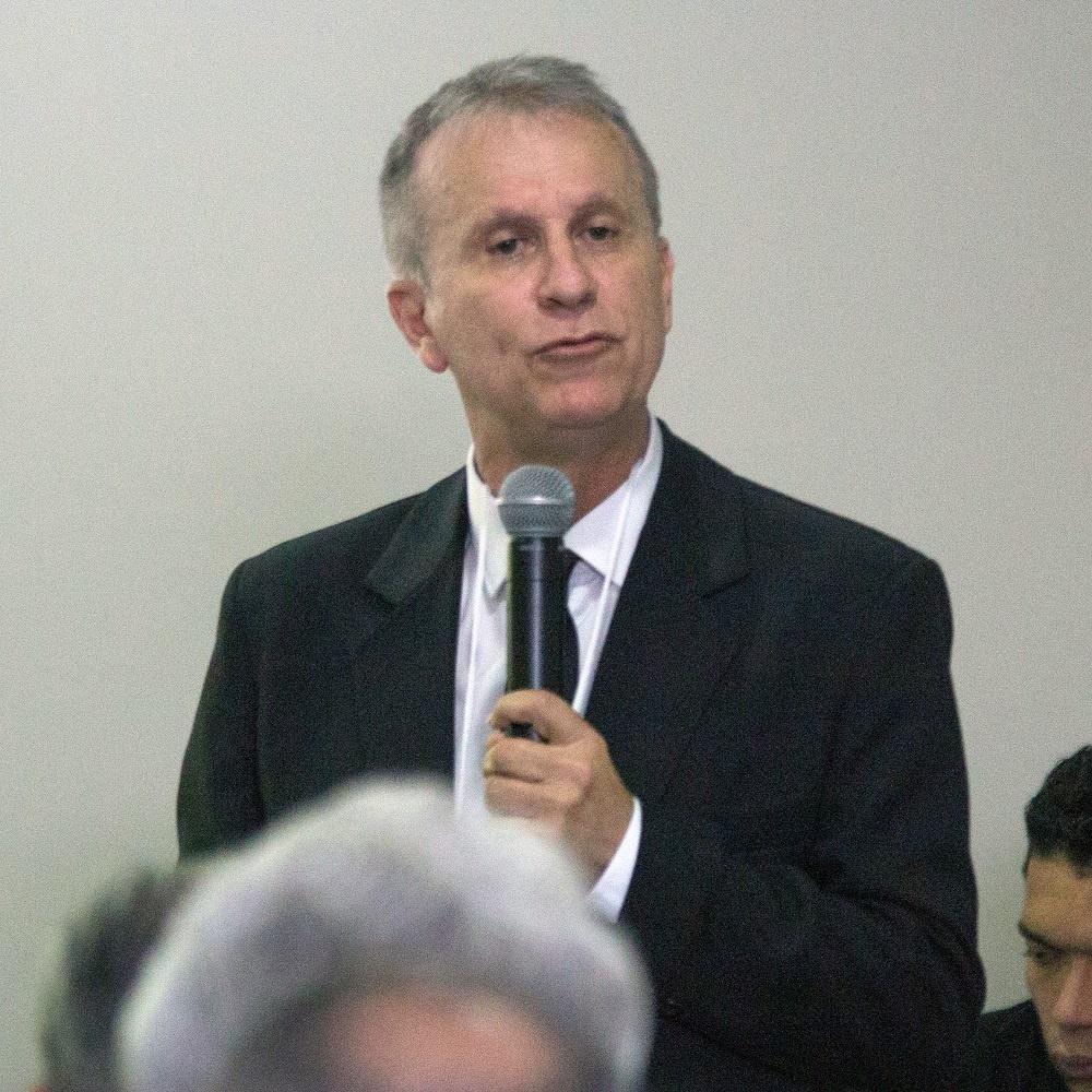 Presidente da Abas, Claudio Oliveira