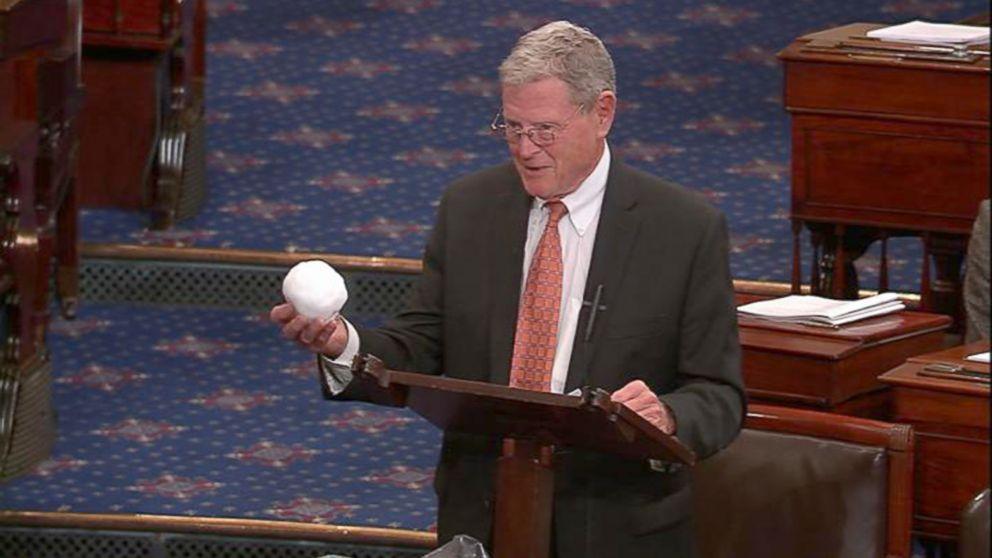 Foto: Senador Jim Inhofe (imagem: reprodução YouTube/C-SPAN)