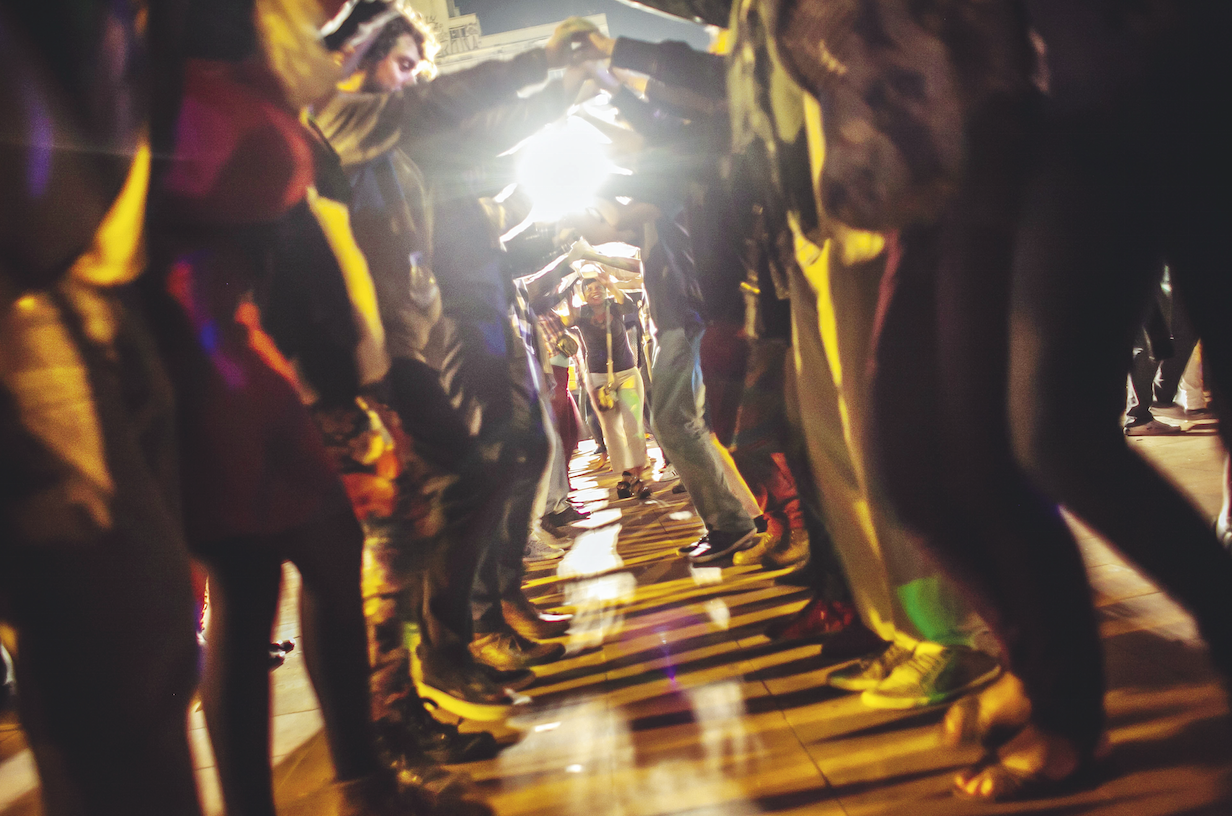 Coletivo busca transformar o Largo da Batata, em São Paulo, em espaço mais acolhedor. Já abrigou festa junina (foto) e até casamento