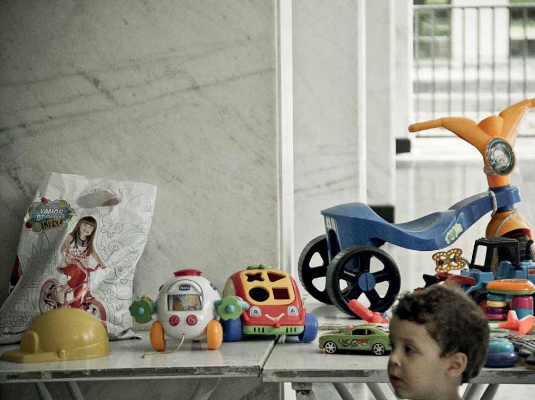Feira de troca de brinquedos realizada em Brasília/ Foto Circuito Fora do Eixo
