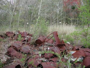 Área contaminada no estado de Massachusetts, Estados Unidos. Foto do Massachusetts Department of Environmental Protection/Flickr