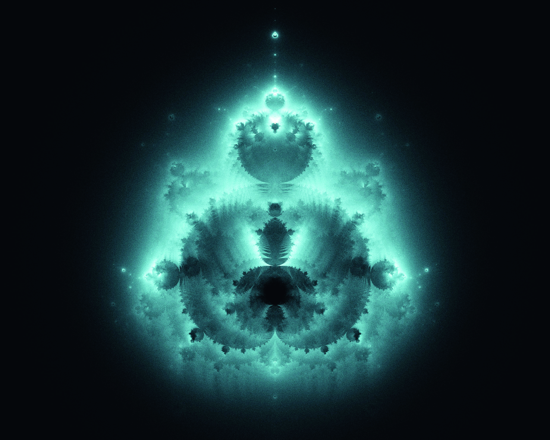 """Equações matemáticas, quando repetidas infinitamente, criam imagens abstratas. São os chamados fractais. A equação dita """"espiritual"""" que gerou este fractal é denominada """"Buddhabrot"""", por lembrar a forma de Buda/ Rodrigo Siqueira/Fractarte.com.br"""