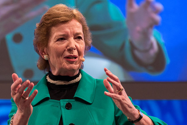 Mary Robinson (foto: Stefan Schäfer/Wikimedia Commons)