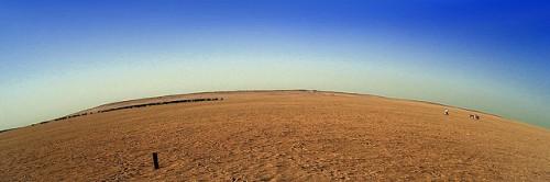 Área desértica no Kuwait. Foto de Jametiks/Flickr