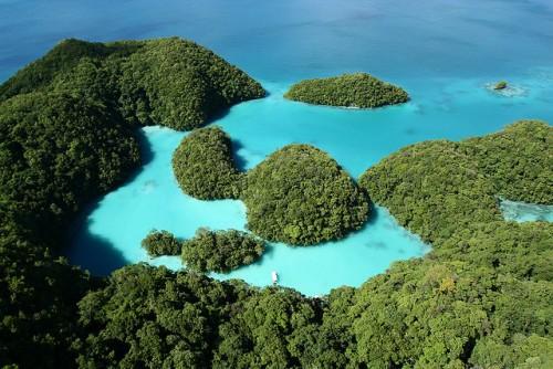 Palau, na Polinésia. Foto de LuxTonerre/Flickr