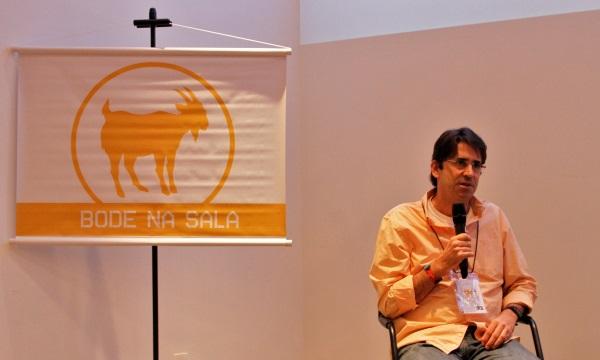 Tasso Azevedo (SEEG/OC), durante o debate do ciclo