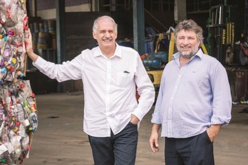 Isac Wajc e Francisco Luiz Biazini Filho, Sócios-fundadores da RedeResíduo.  Fotos F. PEPE GUIMARÃES / F14 FOTOGRAFIA