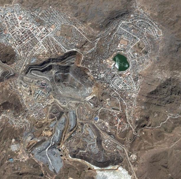Vista aérea de Cerro de Pasco/Wikipedia