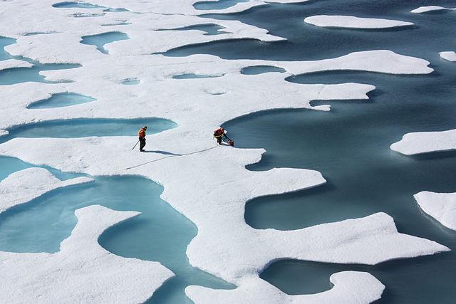 No Ártico, o degelo polar vem se acelerando nos últimos anos (foto: NASA Goddard Space Flight Center/Domínio Público)