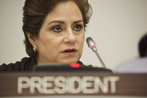 A mexicana Patricia Espinosa Cantellano foi escolhida para assumir a secretaria executiva da Convenção da ONU sobre Clima a partir de julho de 2016, sucedendo Christiana Figueres (foto: James Leynse/CTBTO Preparatory Commission/Wikimedia Commons)