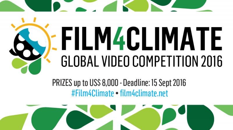 Jovens de todo o mundo estão convidados a enviar vídeos sobre clima para premiação internacional. Anúncio dos vencedores será feito durante a COP 22, no Marrocos