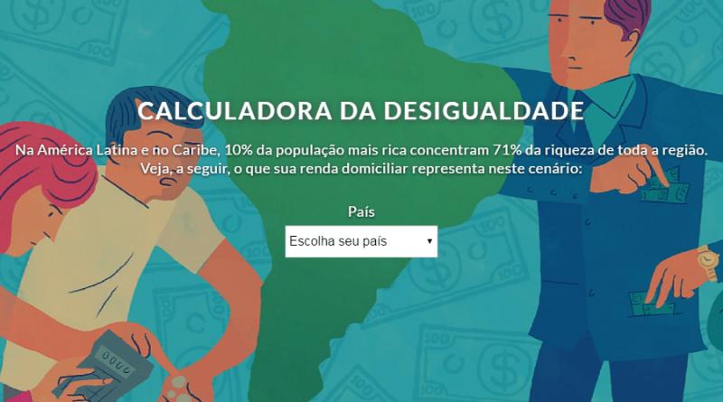 Calculadora escancara a desigualdade e a segmentação da sociedade, diz Katia Maia, diretora da Oxfam Brasil