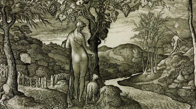 """""""The Bride"""", de Edward Calvert (1828)"""