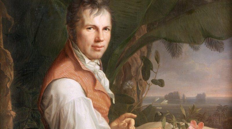Alexander Von Humboldt em pintura de Friedrich Georg Weitsch datada de 1806 (Wikimedia/Domínio Público)