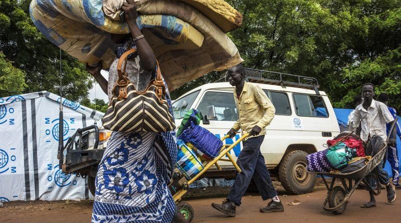 A guerra civil no Sudão do Sul, o país mais jovem do mundo, expulsou mais de 700 mil pessoas de suas casas em 2016 (crédito: UN Photo/Isaac Billy/Flickr - CC-NC-ND 2.0)