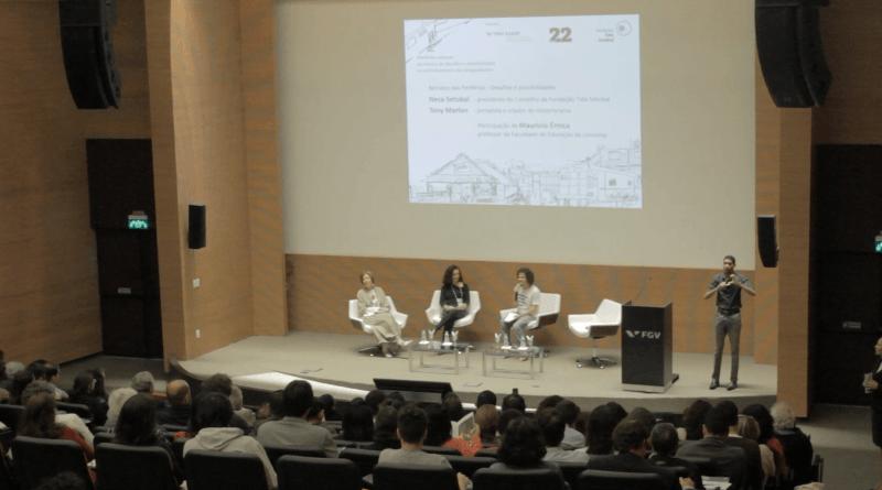 Evento na FGV EAESP marcou o lançamento da nova edição da PÁGINA22 (crédito: Oscar Freitas/GVces)