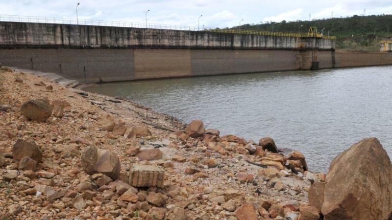 A Barragem do Descoberto, responsável pelo abastecimento de mais de 60% do Distrito Federal, encontra-se hoje com menos de 15% de sua capacidade (crédito: Tony Winston/Agência Brasília - CC BY 2.0)