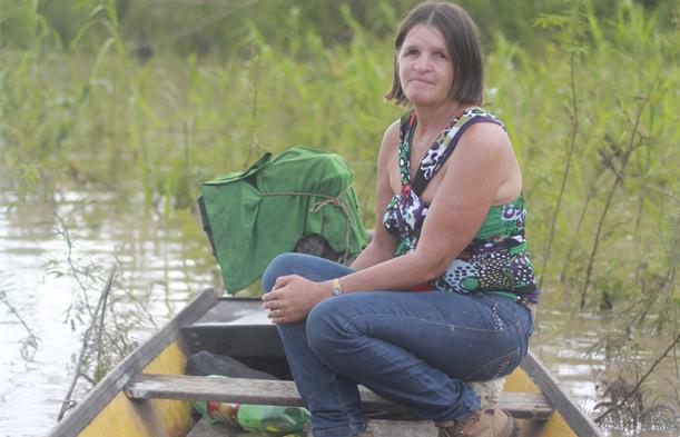 Nilce de Souza Magalhães, militante do Movimento dos Atingidos Por Barragens (MAB) assassinada em janeiro de 2016 em Porto Velho/RO (crédito: MAB)