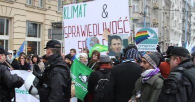 Polônia planeja restringir manifestações durante a COP 24