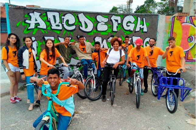 Bikes Marginais: Divulgação FAL