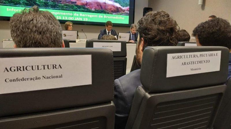 Assentos marcados na 59ª Reunião Plenária Extraordinária do Conama/ Divulgação