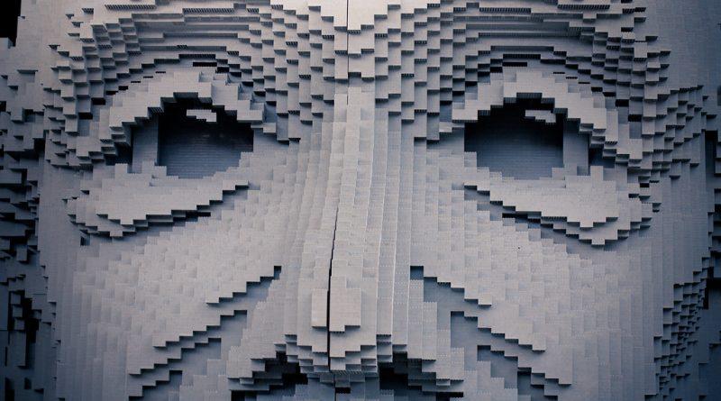 Rick Romero/ Flickr Creative Commons_ Imagem de Einstein feita de Lego